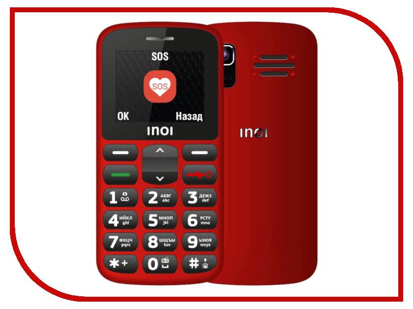 Сотовый телефон Inoi 107B Red сотовый телефон philips s386 navy