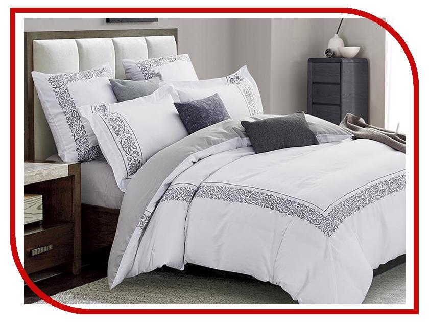 Постельное белье Arya Verona Комплект 2 спальный Сатин с вышивкой TR1003037 комплект жасмина размер 2 0 спальный с европростыней