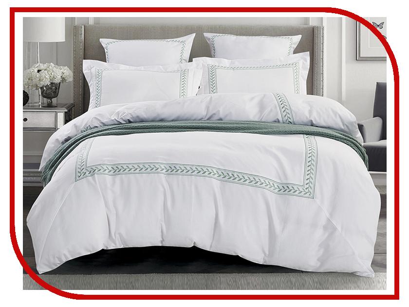 Постельное белье Arya Cuba Комплект 2 спальный Сатин с вышивкой TR1003034 постельное белье ларедо сатин 2 спальный