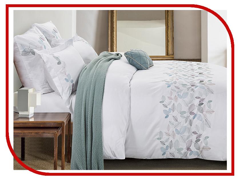Постельное белье Arya Tilbe Комплект 2 спальный Сатин с вышивкой TR1003036 постельное белье ларедо сатин 2 спальный