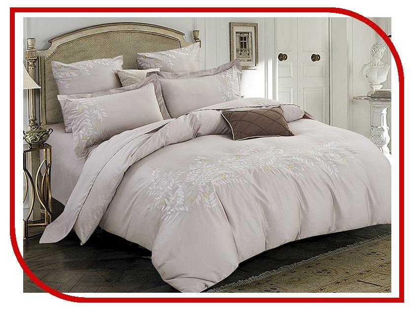 Постельное белье Arya Alisha Комплект 2 спальный Сатин с вышивкой TR1003042 постельное белье ларедо сатин 2 спальный