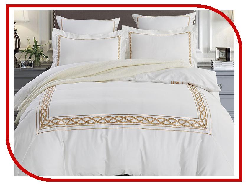 Постельное белье Arya Dario Комплект 2 спальный Сатин с вышивкой TR1003038 постельное белье эго комплект 1 5 спальный полисатин