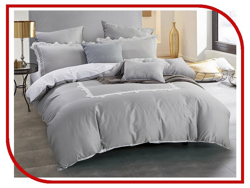 Постельное белье Arya Lola Комплект 2 спальный Сатин с вышивкой TR1003043