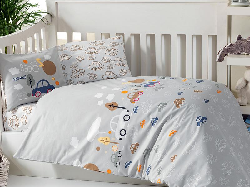 цена на Постельное белье Arya Beep Комплект Детский Ранфорс ARL0000012