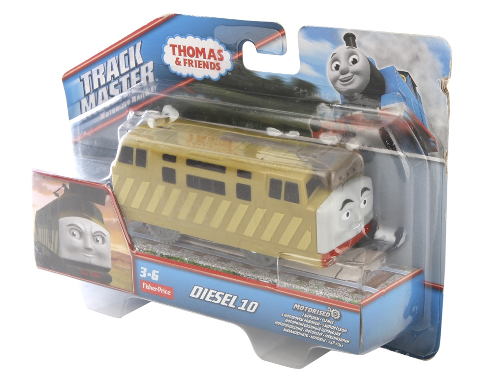Игрушка Mattel Fisher-Price Thomas And Friends CKW29