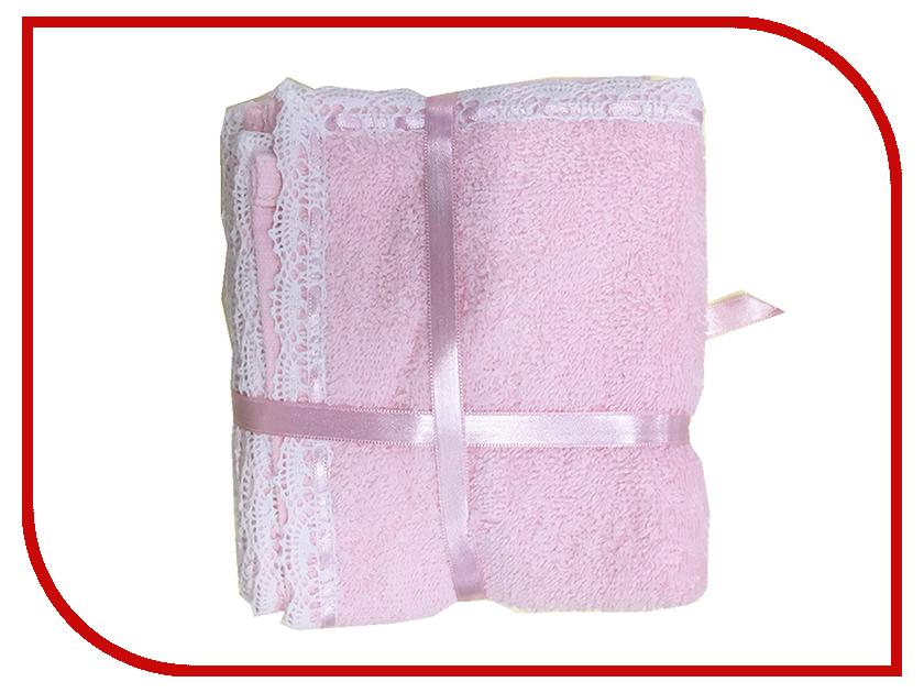 Набор полотенец Arya Lace 30x30cm 3шт Pink TR1002584 vestido de festa curto mini lace short homecoming dresses 2018 tulle appliques v шея бальное платье lace up 8 й класс формальные платья