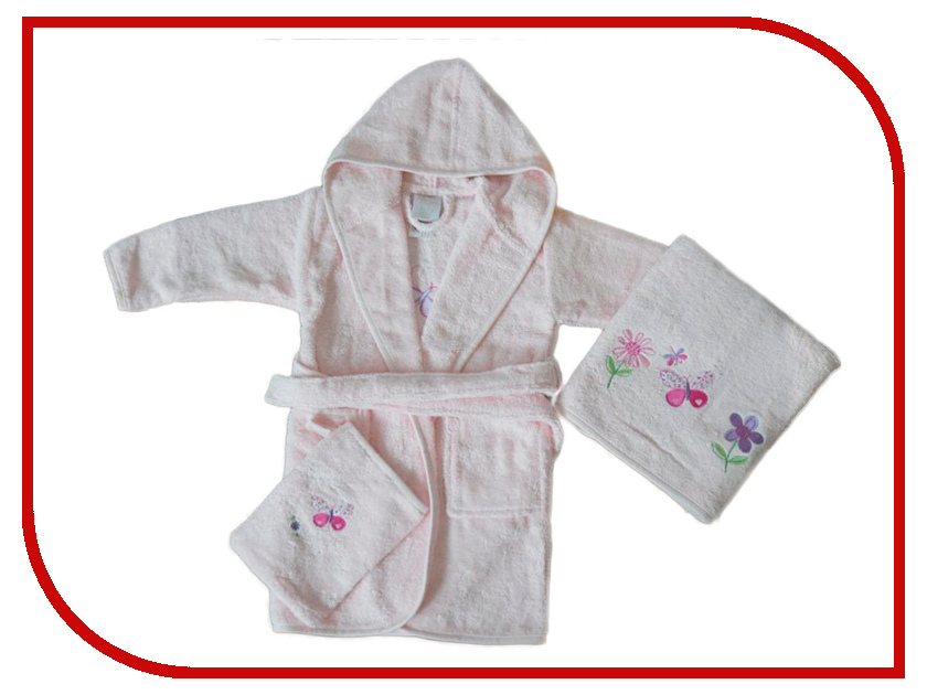 Набор для ванны Arya Kelebek Pink TR1002579