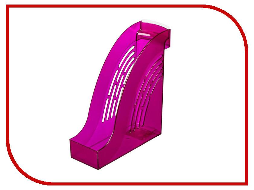 Накопитель вертикальный Attache Яркий офис Transparent Plum 644887