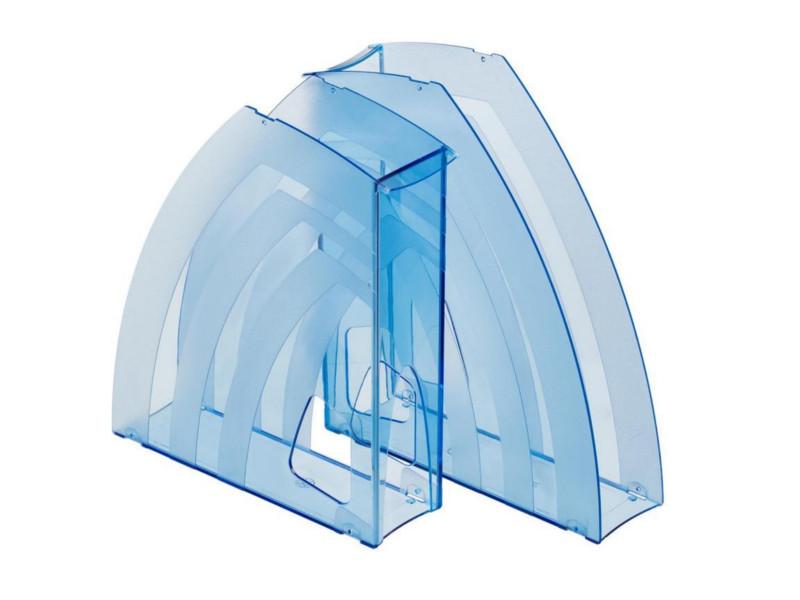 Накопитель вертикальный Attache 2шт/уп Transparent Blue 171180