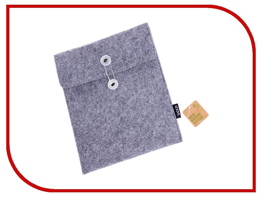 Аксессуар Чехол для APPLE iPad Lejoys Felt Grey 70008 канцелярия lejoys бизнес блокнот felt на спирали а5 120 листов