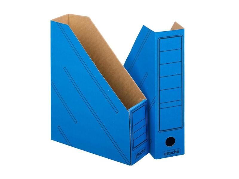 Накопитель вертикальный Attache Сборный 2шт/уп Гофрокартон Blue 731862