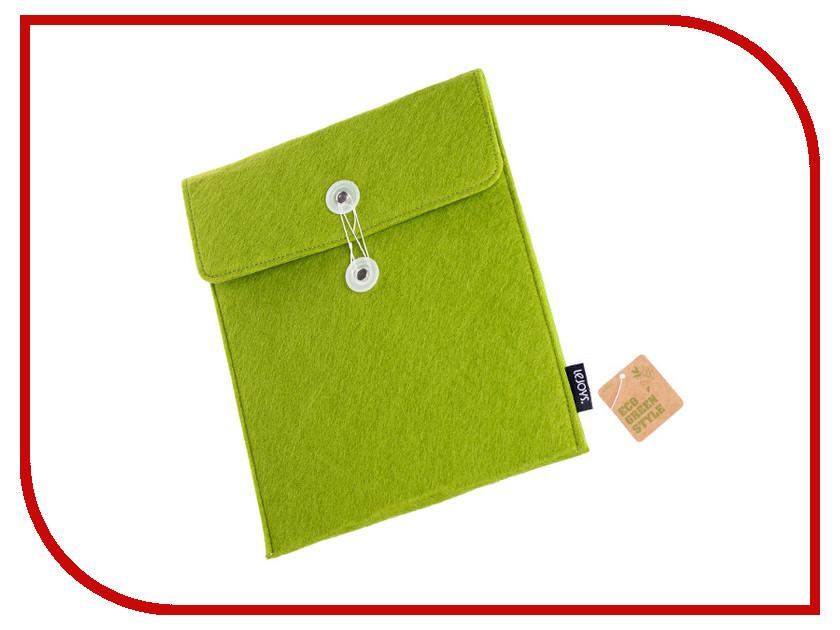 Аксессуар Чехол для APPLE iPad Lejoys Felt Green 70041 канцелярия lejoys бизнес блокнот felt на спирали а5 120 листов