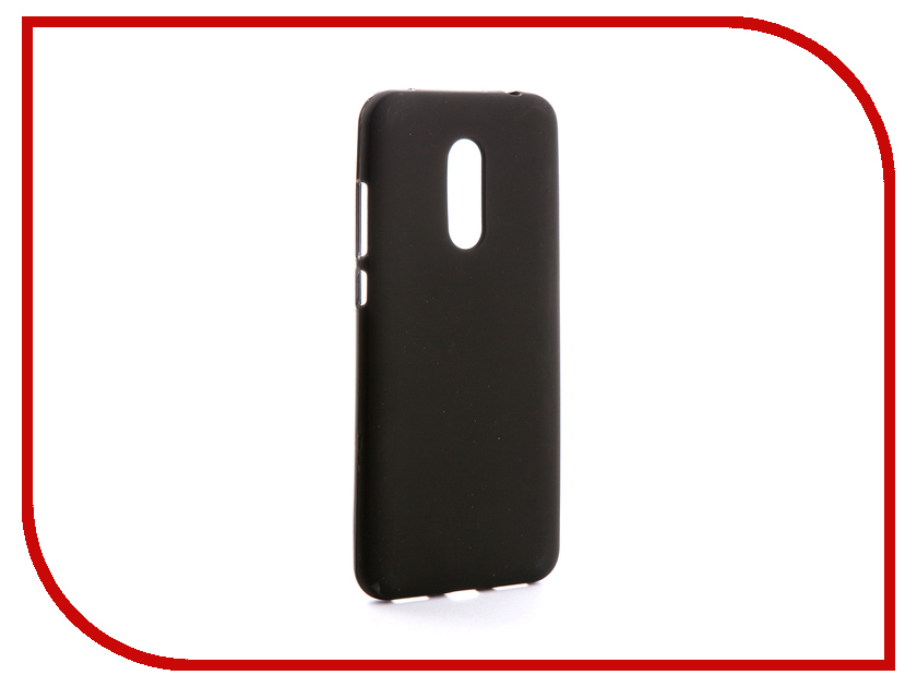 Аксессуар Чехол Xiaomi Redmi 5 Plus Svekla Silicone Black SV-XIRED5PLUS-MBL аксессуар чехол asus zenfone 3 max zc553kl svekla silicone black sv aszc553kl mbl