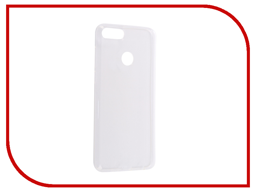 Аксессуар Чехол для Huawei Y9 2018 Svekla Silicone Transparent SV-HWY92018-WH аксессуар чехол huawei y3 ii svekla silicone transparent sv hwy3ii wh