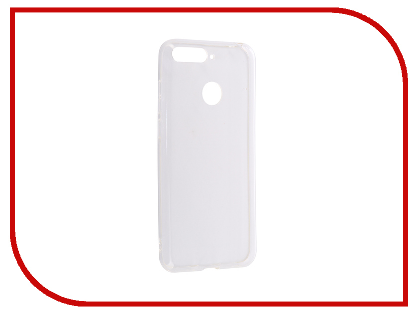 Аксессуар Чехол для Huawei Y6 Prime 2018 Svekla Silicone Transparent SV-HWY6P2018-WH поло mother russia mother russia mo065embpyl2