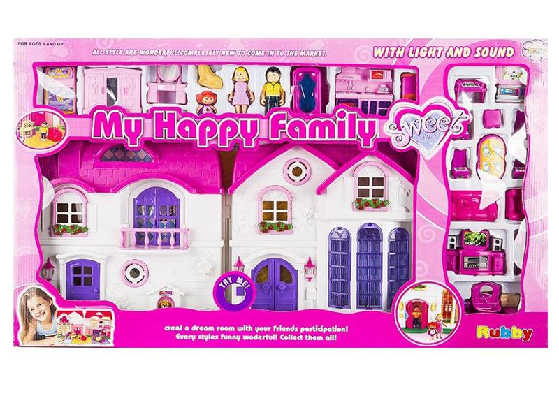 Кукольный домик Игруша I16567B 90100193170 игра игруша чаепитие gk 64c 1 gl000698442