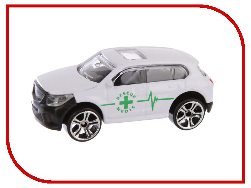 Игрушка HTI Hot Trucks Rescue Medic Скорая помощь 1416276 relationship rescue