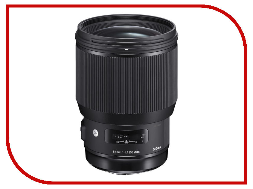 Объектив Sigma 85mm f/1.4 DG HSM Art Sony E банкетка dg home x leg stool dg f tab76