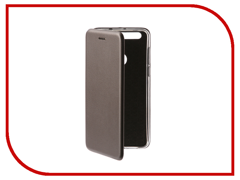 Аксессуар Чехол для Huawei Honor 8 Innovation Book Silver 11992 gangxun huawei honor 8 pro case anti slippery устойчивая к царапинам легкая мягкая задняя обложка из кремния для чести v9
