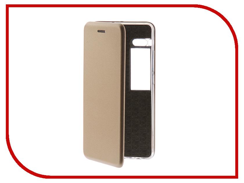 Аксессуар Чехол для Meizu Pro 7 Note Innovation Book Gold 11977