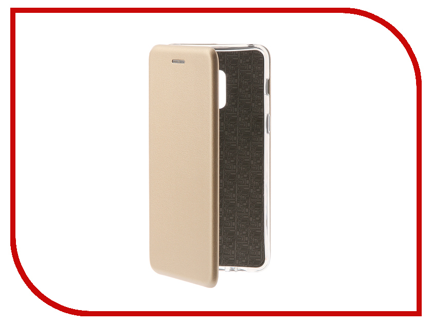Аксессуар Чехол для Samsung Galaxy A8 2018 Innovation Book Gold 11969 аксессуар чехол для samsung galaxy a8 plus 2018 innovation book gold 11973