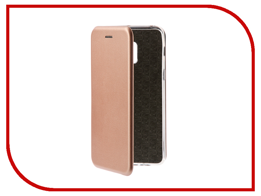 Аксессуар Чехол для Samsung Galaxy A8 Plus 2018 Innovation Book Gold 11973 аксессуар чехол для samsung galaxy j2 2018 innovation book gold 11961