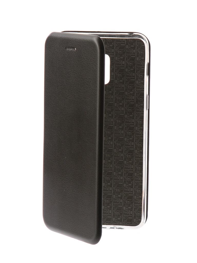 Чехол Innovation для Samsung Galaxy A8 Plus 2018 Book Black 11971