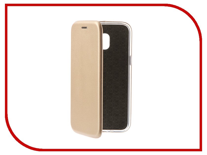 Аксессуар Чехол для Samsung Galaxy J2 2018 Innovation Book Gold 11961 аксессуар чехол для samsung galaxy j2 2018 innovation book gold 11961