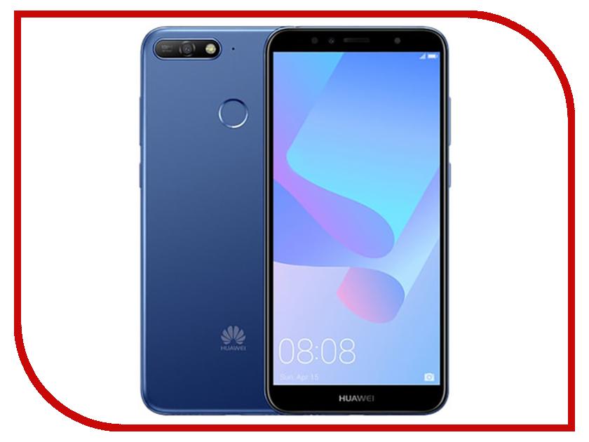 Сотовый телефон Huawei Y6 Prime (2018) 16GB Blue