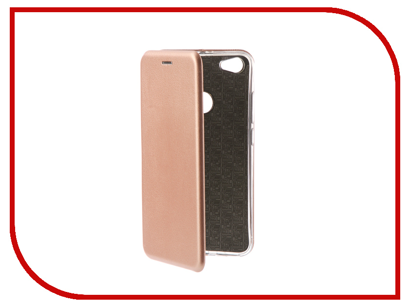 Аксессуар Чехол для Xiaomi Redmi Note 5А Prime Innovation Book Pink Gold 11947 чехол книжка dyp casual wallet для xiaomi redmi note 5a prime черный