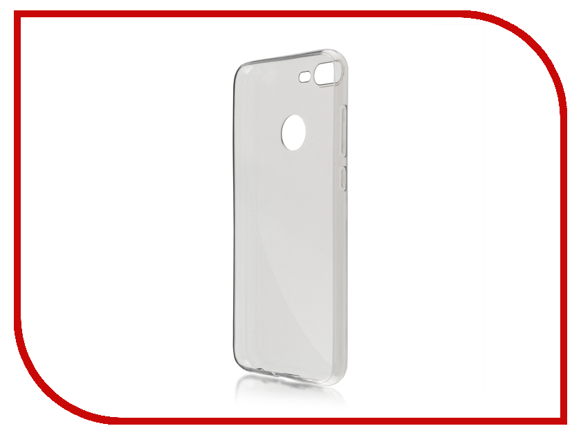 Аксессуар Чехол для Huawei Honor 9 Lite BROSCO Silicone Black HW-H9L-TPU-BLACK mooncase s line soft flexible silicone gel tpu skin shell back чехолдля htc one m9 black