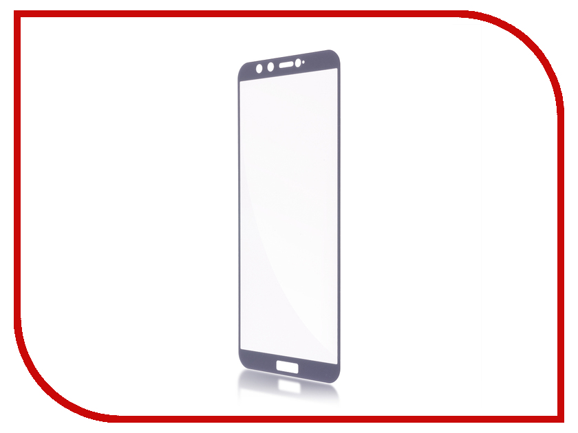 Аксессуар Защитное стекло для Huawei Honor 9 Lite BROSCO Full Screen Grey HW-H9L-GLASS-GREY original new 9 7 inch tablet 04 0970 0498 v2 touch screen panel digitizer glass sensor replacement free shipping
