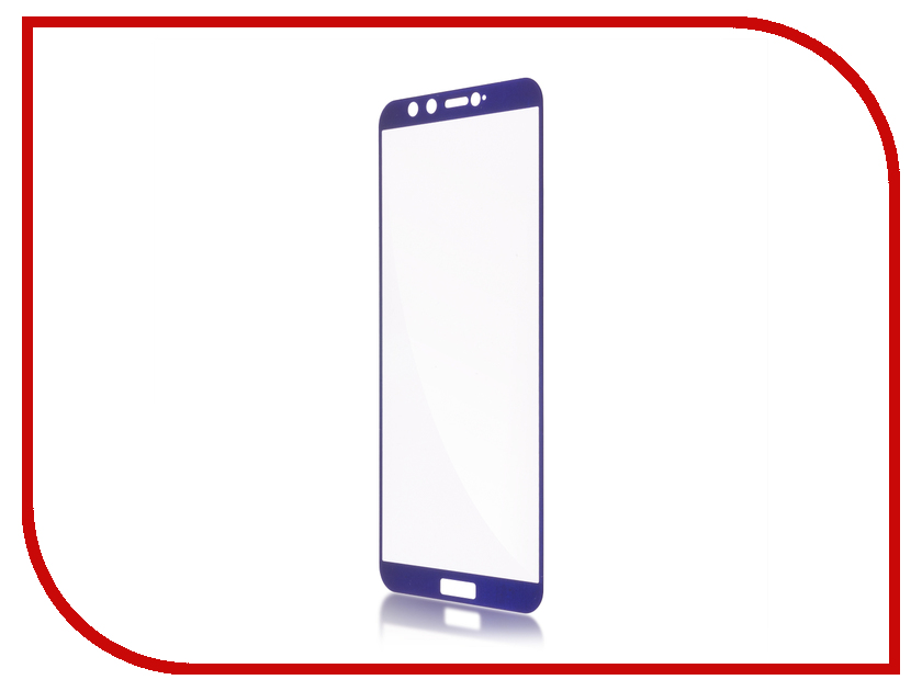 Аксессуар Защитное стекло для Huawei Honor 9 Lite BROSCO Full Screen Blue HW-H9L-GLASS-BLUE lcd screen display touch digitizer with frame for huawei honor 7i not for honor 7 blue or white or gold free shipping
