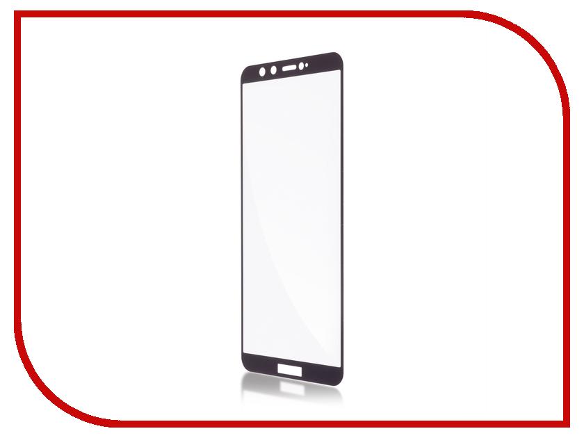 Аксессуар Защитное стекло для Huawei Honor 9 Lite BROSCO Full Screen Black HW-H9L-GLASS-BLACK аксессуар защитное стекло huawei honor p lite brosco 0 3mm hw h9l sp glass