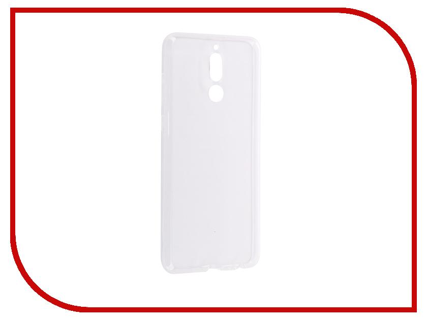 Аксессуар Чехол для Huawei Nova 2i BROSCO Silicon Transparent HW-N2i-TPU-TRANSPARENT s shape protective tpu back case for google nexus 5 transparent