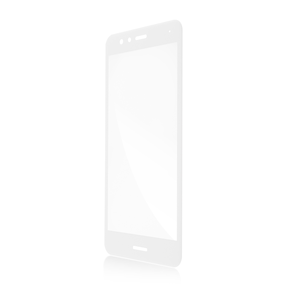 Аксессуар Защитное стекло Brosco для Huawei P10 3D Full Screen White HW-P10L-FSP-GLASS-WHITE
