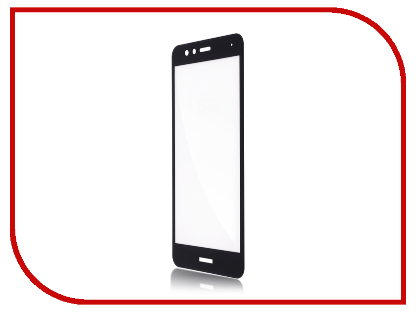 Аксессуар Защитное стекло для Huawei P10 Lite BROSCO 3D Full Screen Black HW-P10L-GLASS-BLACK шубница 28 5 15 5 5 5 см 900 мл павлин синий 1212595