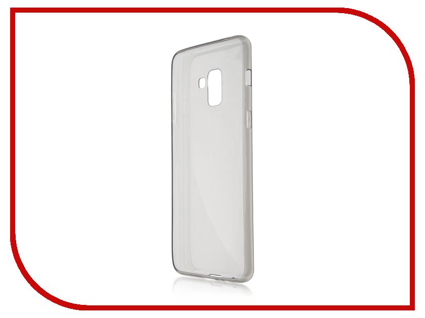 Аксессуар Чехол Samsung Galaxy A8 Plus BROSCO Black SS-A8P-TPU-BLACK аксессуар чехол xiaomi mi6 brosco silicone black xm mi6 tpu black