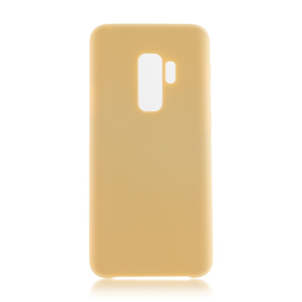 Аксессуар Чехол Brosco для Samsung Galaxy S9 Plus Green SS-S9P-SOFTRUBBER-GOLD