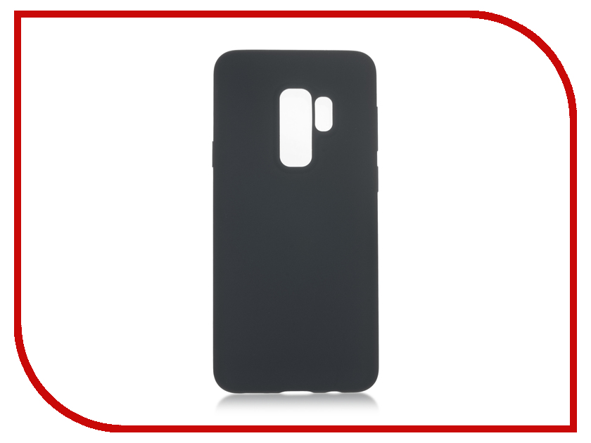 Аксессуар Чехол для Samsung Galaxy S9 Plus BROSCO Gray SS-S9P-SOFTRUBBER-GREY brosco grey monopod 01 grey