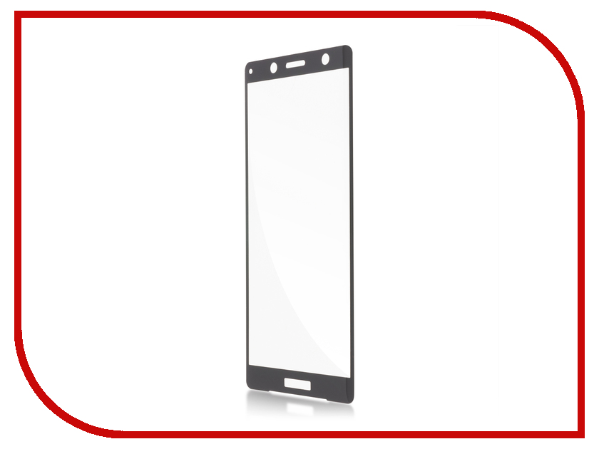 Аксессуар Защитное стекло для Sony Xperia XZ2 Compact BROSCO Black XZ2C-3D-GLASS-BLACK аксессуар защитное стекло для sony xperia xz1 brosco full screen black xz1 glass black