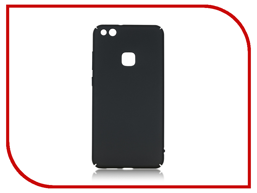 Аксессуар Чехол Huawei P10 Lite BROSCO SoftTouch Black HW-P10L-4SIDE-ST-BLACK аксессуар чехол htc u ultra brosco softtouch 4side black htc uu 4side st black