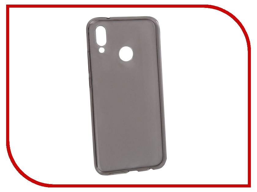 Аксессуар Чехол для Huawei P20 Lite BROSCO Silicone Black P20LITE HW-P20L-TPU-BLACK аксессуар чехол для sony xperia xa1 ultra brosco silicone transparent xa1u tpu transparent