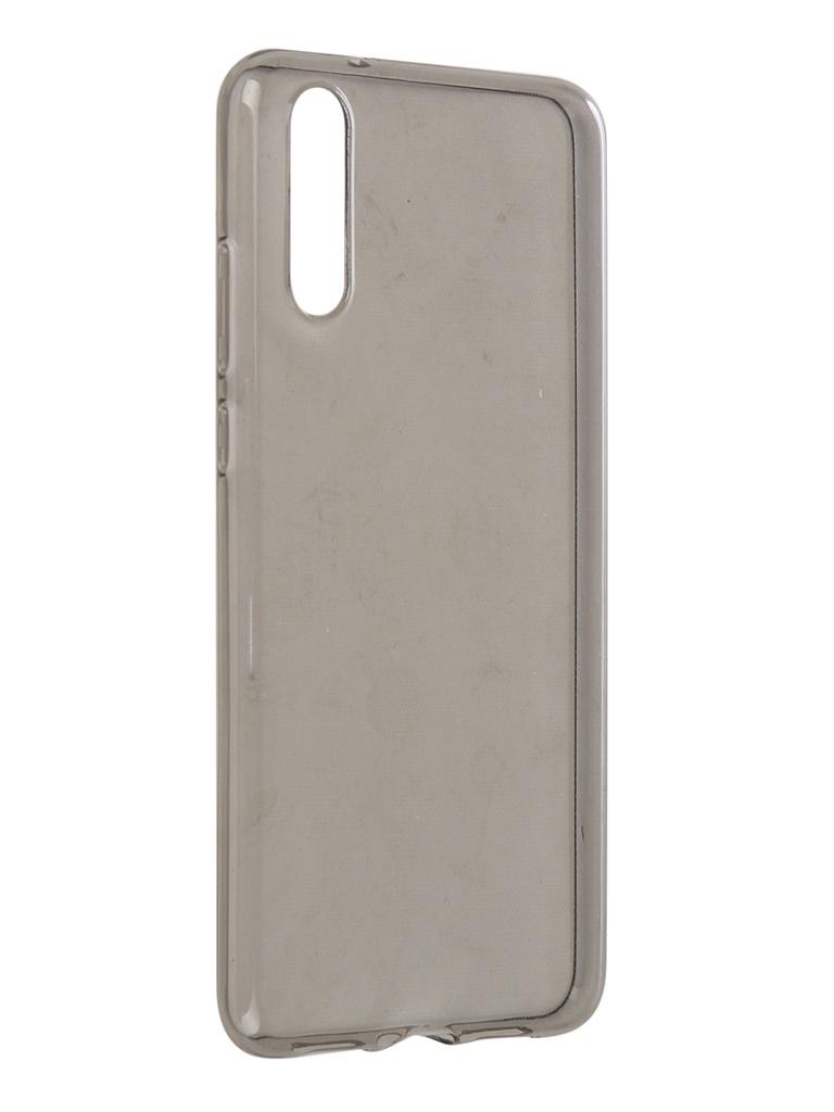 Аксессуар Чехол Brosco для Huawei P20 Silicone TPU Black HW-P20-TPU-BLACK