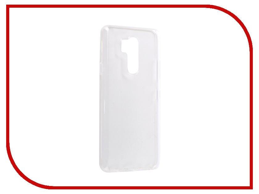 Аксессуар Чехол для LG G7 BROSCO Silicone Transparent LG-G7-TPU-TRANSPARENT transparent envelope clutch bag