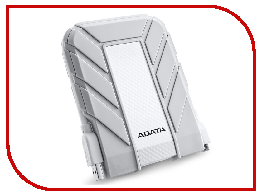 Жесткий диск ADATA HD710A 1TB White hdd a data hv100 1tb white