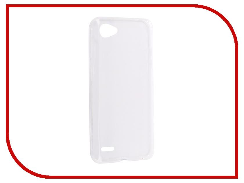 все цены на Аксессуар Чехол для LG Q6 BROSCO Silicone Transparent LG-Q6-TPU-TRANSPARENT онлайн