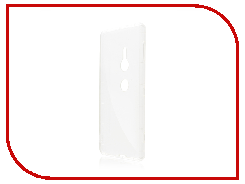 Аксессуар Чехол для Sony Xperia XZ2 BROSCO Transparent XZ2-HARD-TPU-TRANSPARENT transparent envelope clutch bag