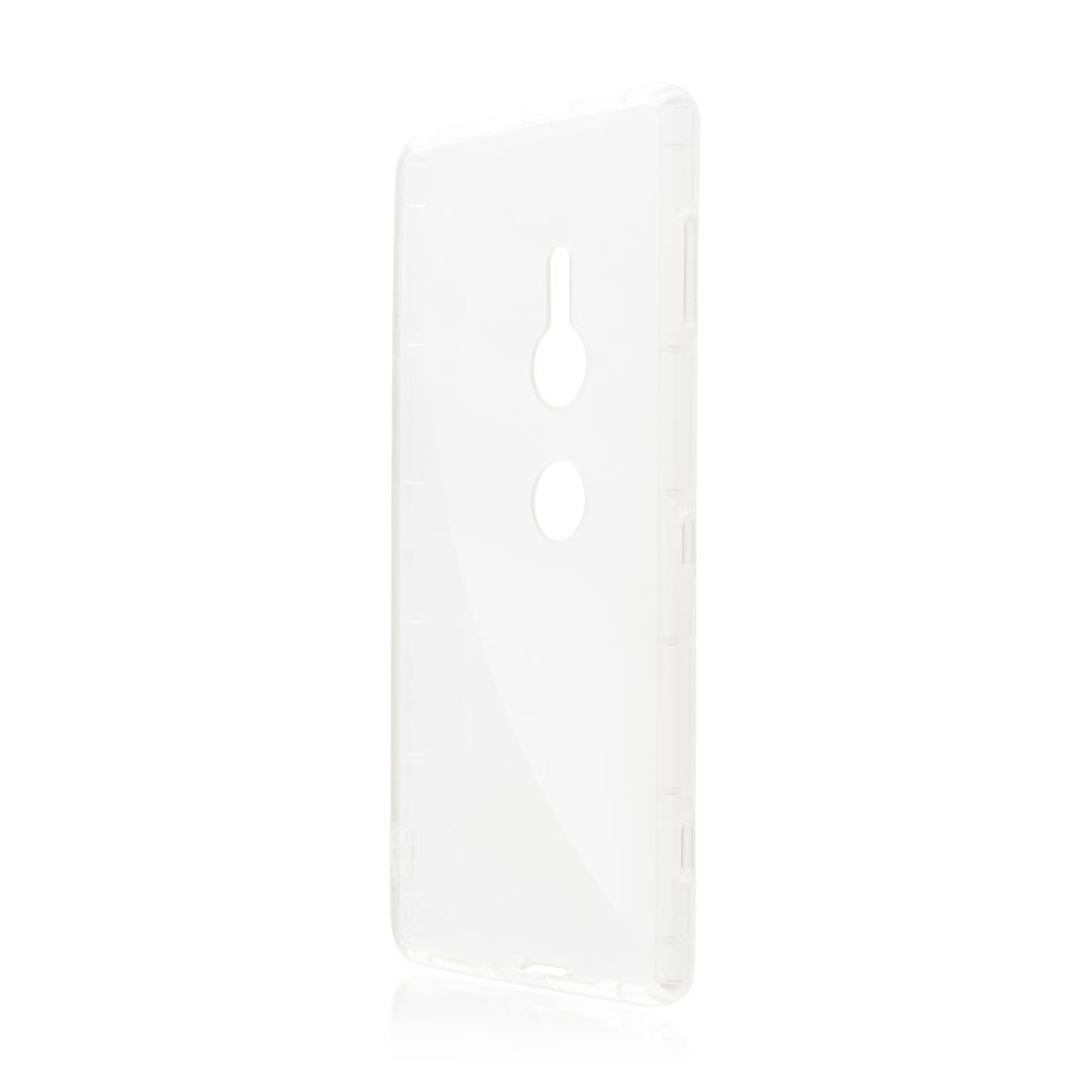 Аксессуар Чехол Brosco для Sony Xperia XZ2 Transparent XZ2-HARD-TPU-TRANSPARENT аксессуар чехол для sony xperia xz2 compact brosco transparent xz2c tpu transparent