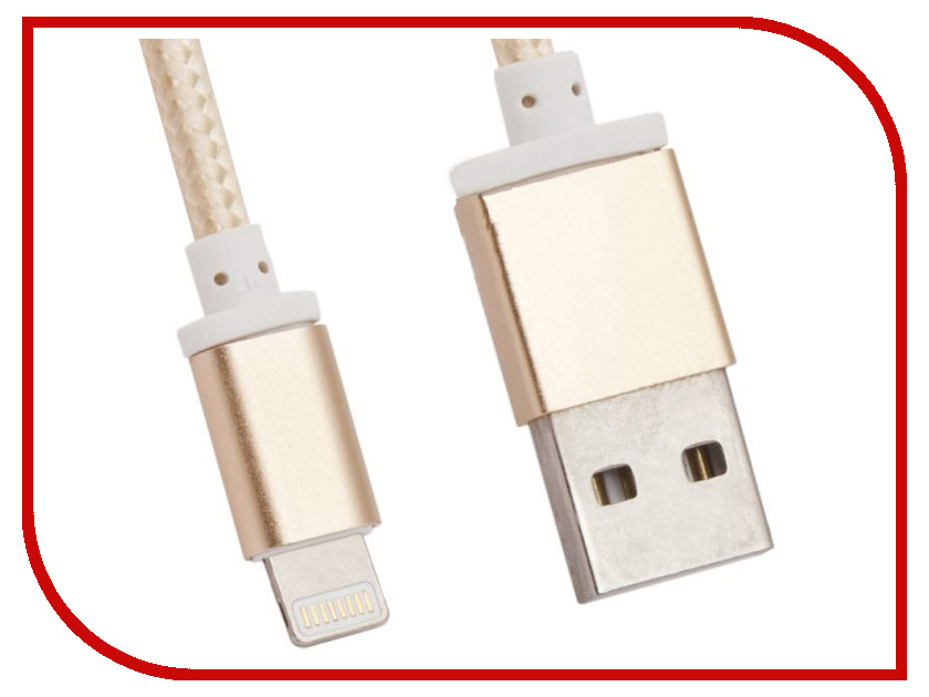 Аксессуар Recci Armor RCL-T100 USB-Lightning 8pin Gold аксессуар чехол philips s307 armor white